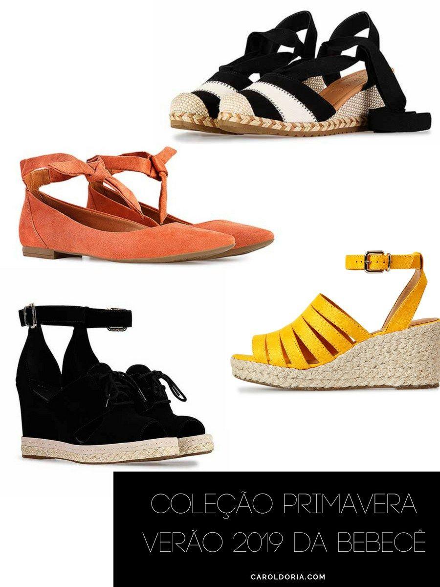 0e6f80225 Coleção Primavera Verão 2019 da Bebecê - Carol Doria, sapatos femininos,  sapatos, calçados, calçados femininos, shoes, lançamento, novidade