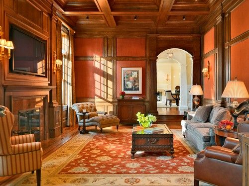 Victorian Era Living Room