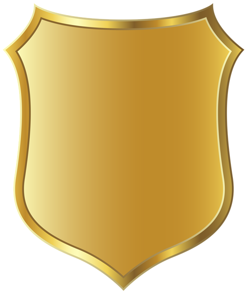 Gold Badge Template Clipart Picture