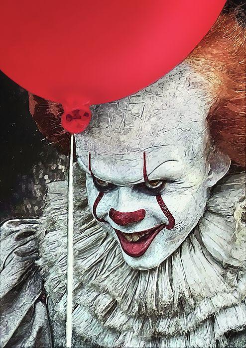 pennywise it clown horror horror decor halloween