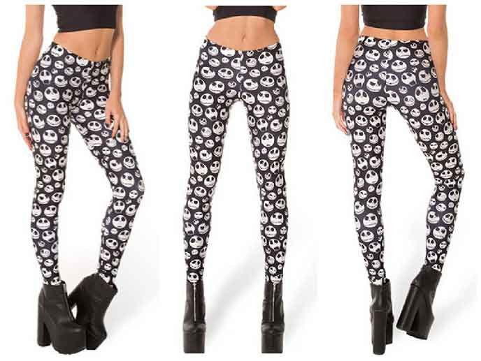e8717deea8fda Jack Skellington Leggings – Lotus Leggings | Style | Halloween ...