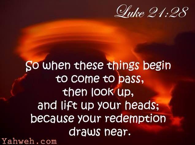 Image result for Luke 21:28 images