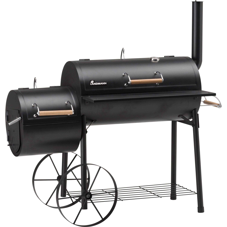 Barbecue Fumoir Au Charbon De Bois Landmann Tennessee 300 Noir Barbecue Fumoir Barbecue Fumoir