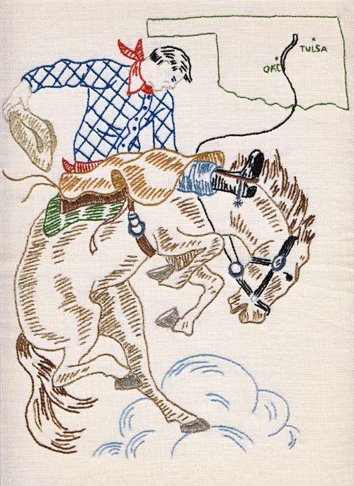 My Interpretation Of A Vintage Embroidery Found On Ebay I