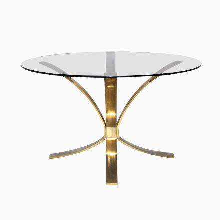 Runder Couchtisch von Roger Sprunger für Dunbar Furniture Jetzt - couchtisch aus massivholz 25 designs