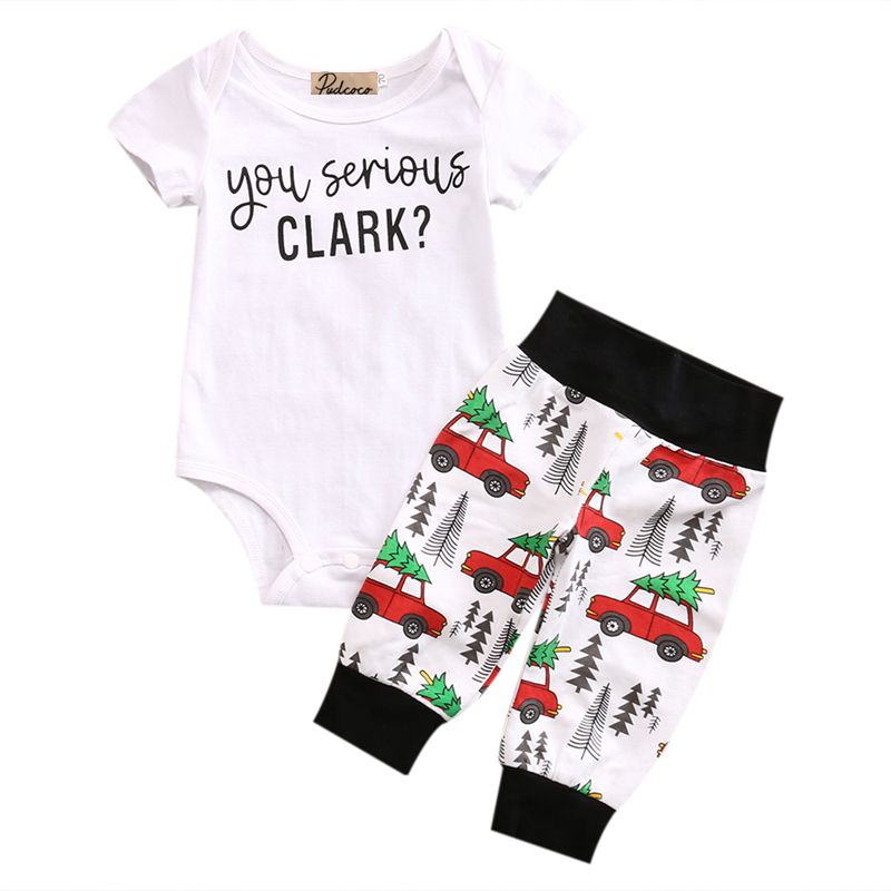 Newborn Infant Baby Boys Short Sleeve Tops T-shirt Pants   Jumpsuit Baby Set