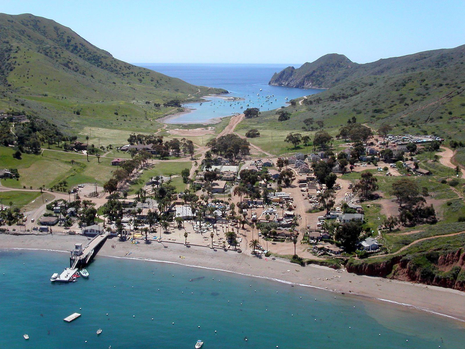 Two Harbors Catalina Island Catalina Island Santa Catalina