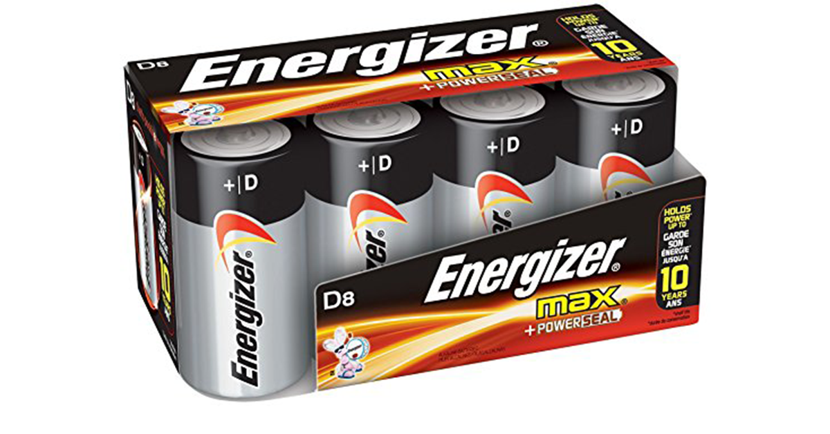 Amazon Best Price Subscribe Save Energizer D Cell Batteries Energizer Battery Energizer Battery Sizes