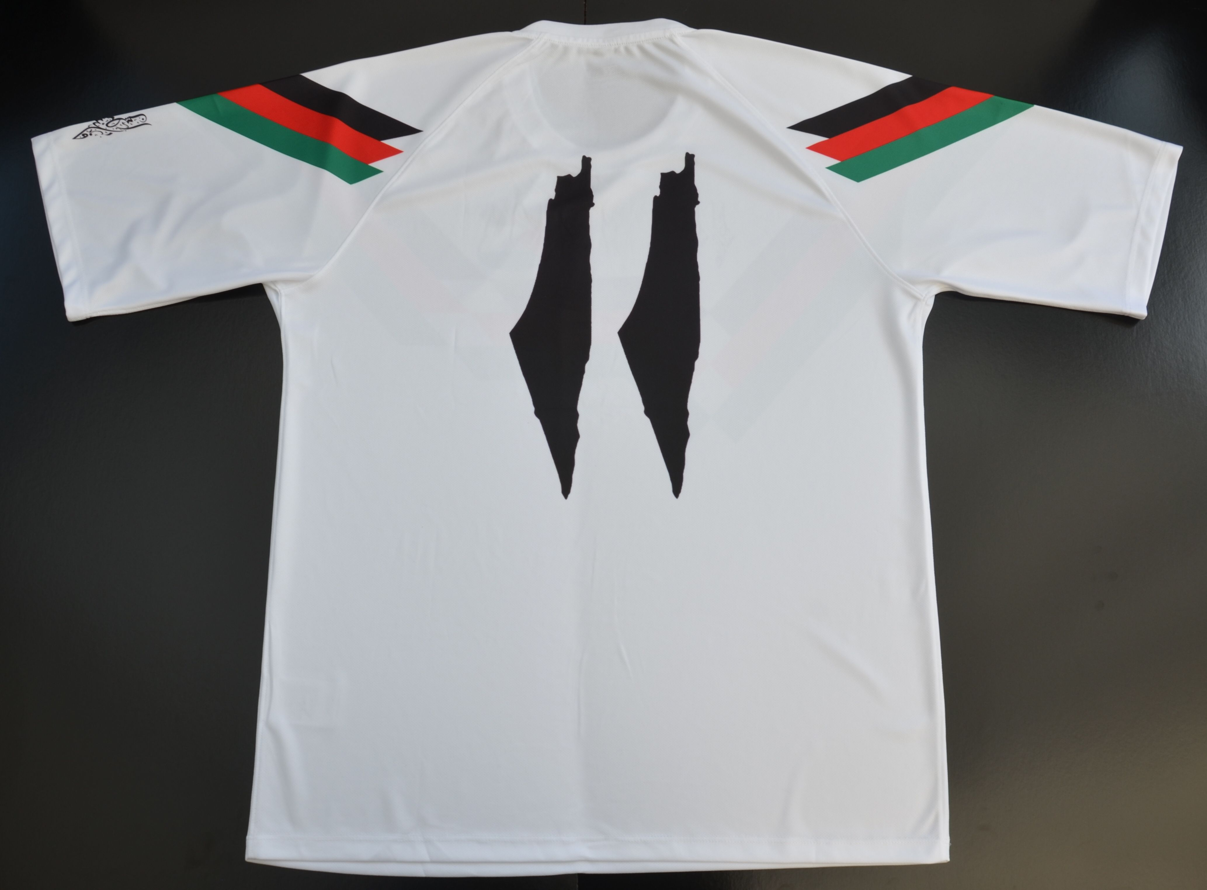 Palestine football jersey shirt. FC Palestina. Palestino. Gaza. Filistin 753594a76