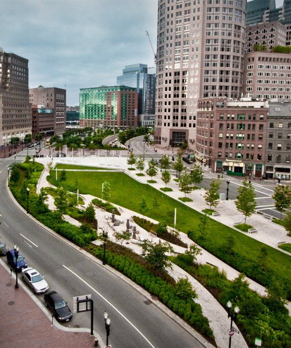 33 Places To Go For Summer Vacation Boston Rose F Kennedy Greenway