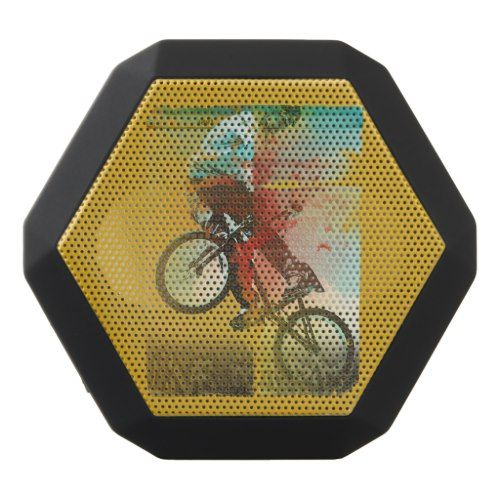 Live to Ride, BMX Sport Bike, Black Bluetooth Speaker
