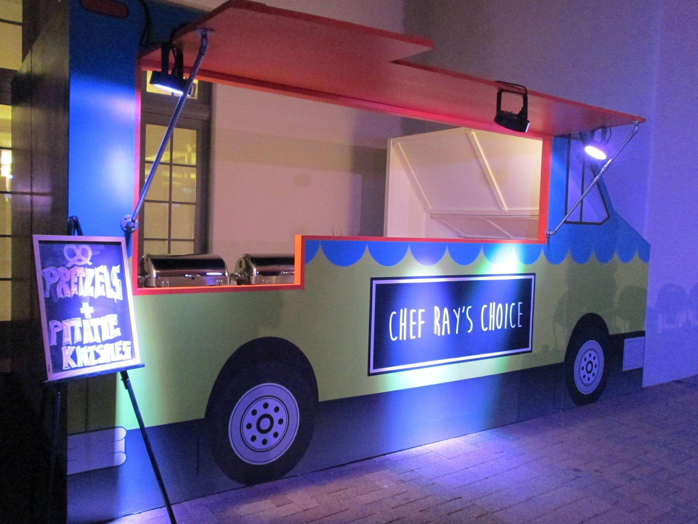 Encore food truck facade encore creative food truck