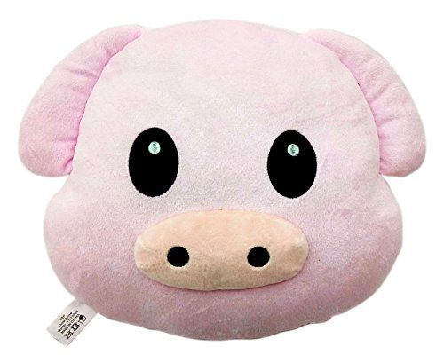 Pig Piggy Emoji Pillow Emoticon Cushion Plush Toy WEP https://www.amazon.com/dp/B01ETZ782E/ref=cm_sw_r_pi_dp_qX2HxbHTN05H2
