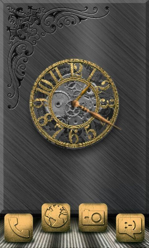 Homepack Buzz Check Out This Awesome Homescreen Gold I