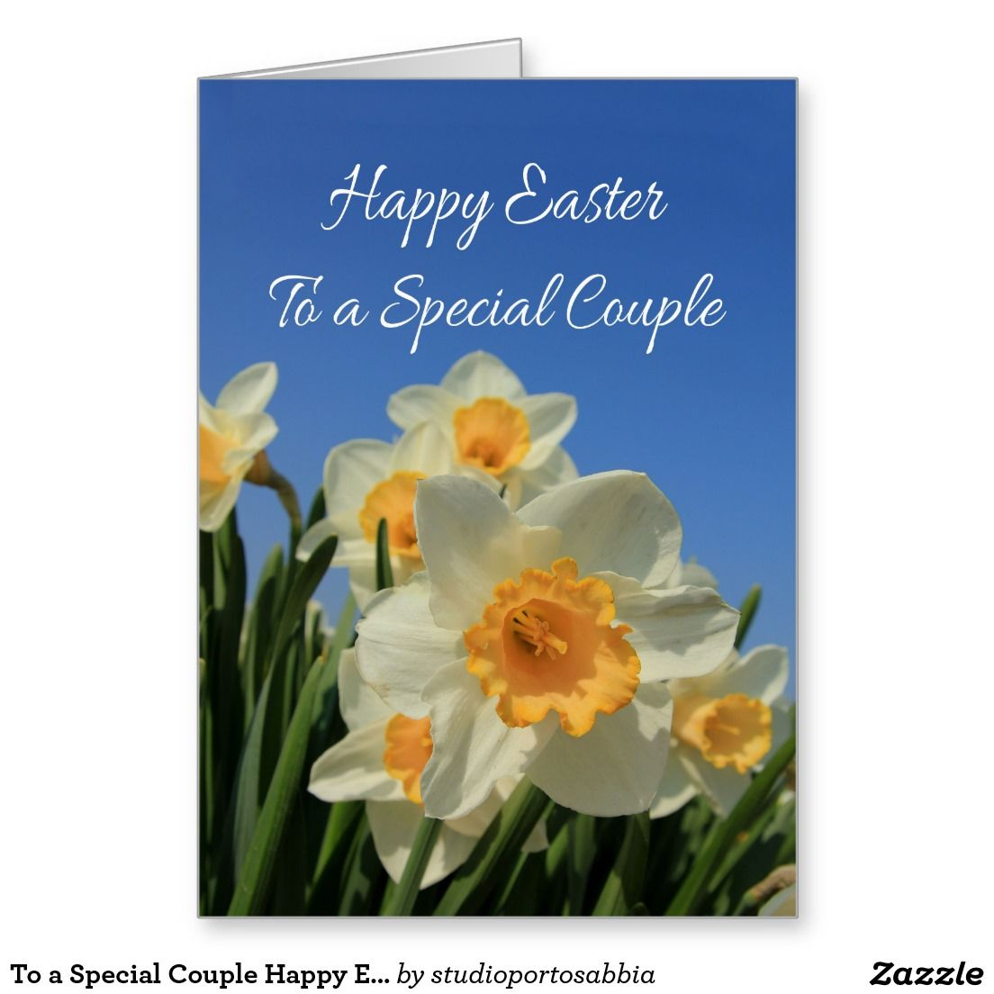 To a special couple happy easter stationery note card all things happy easter kristyandbryce Gallery
