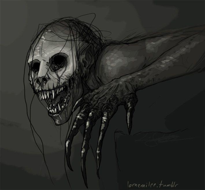 rake concept art google search pinterest creepypasta