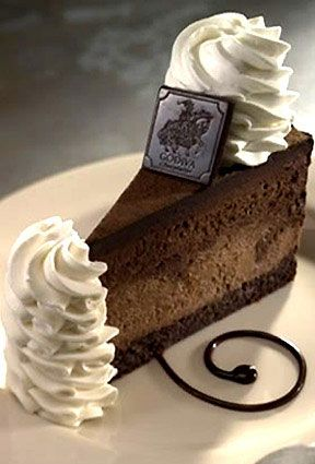 Godiva chocolate cheesecake