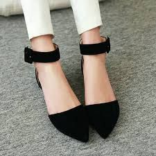 Image result for red pointy toe heels anklestrap