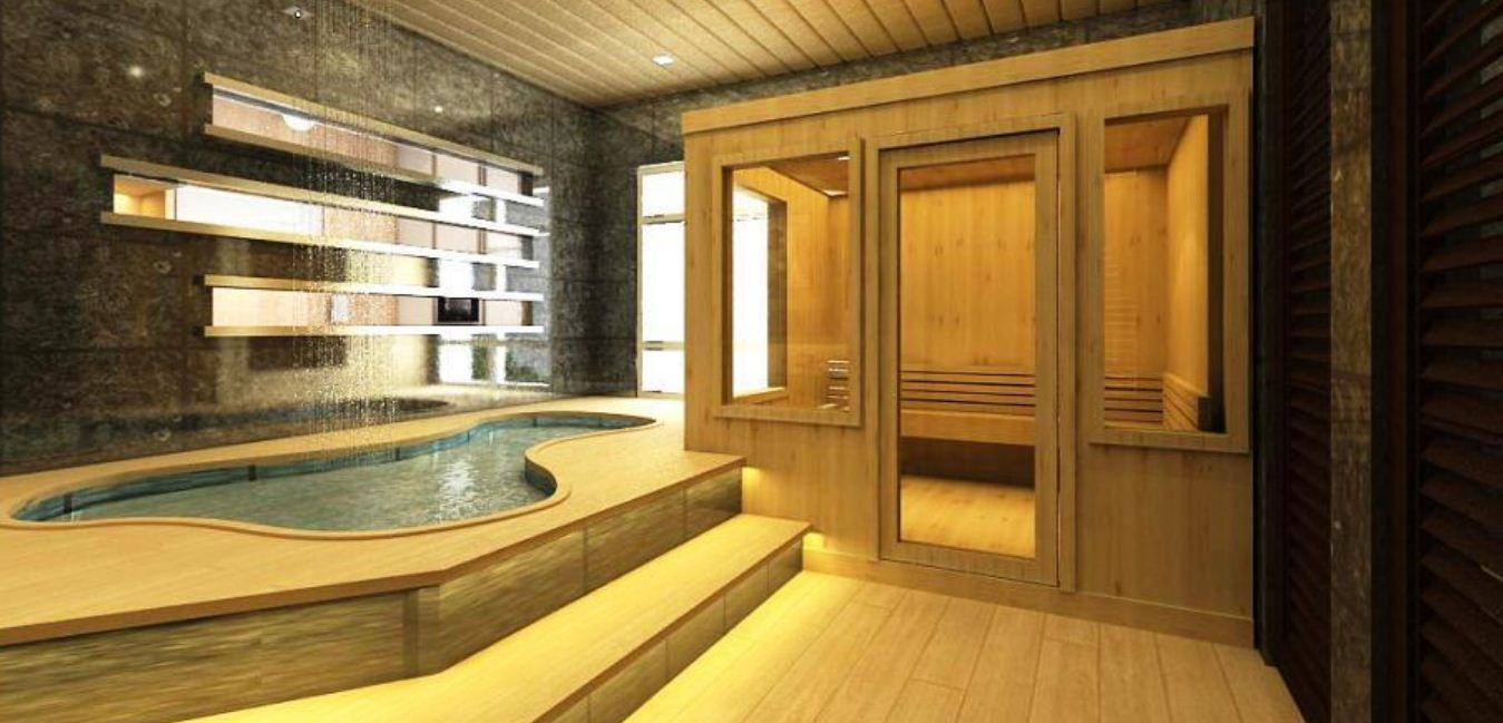 Modern Home Steam Room