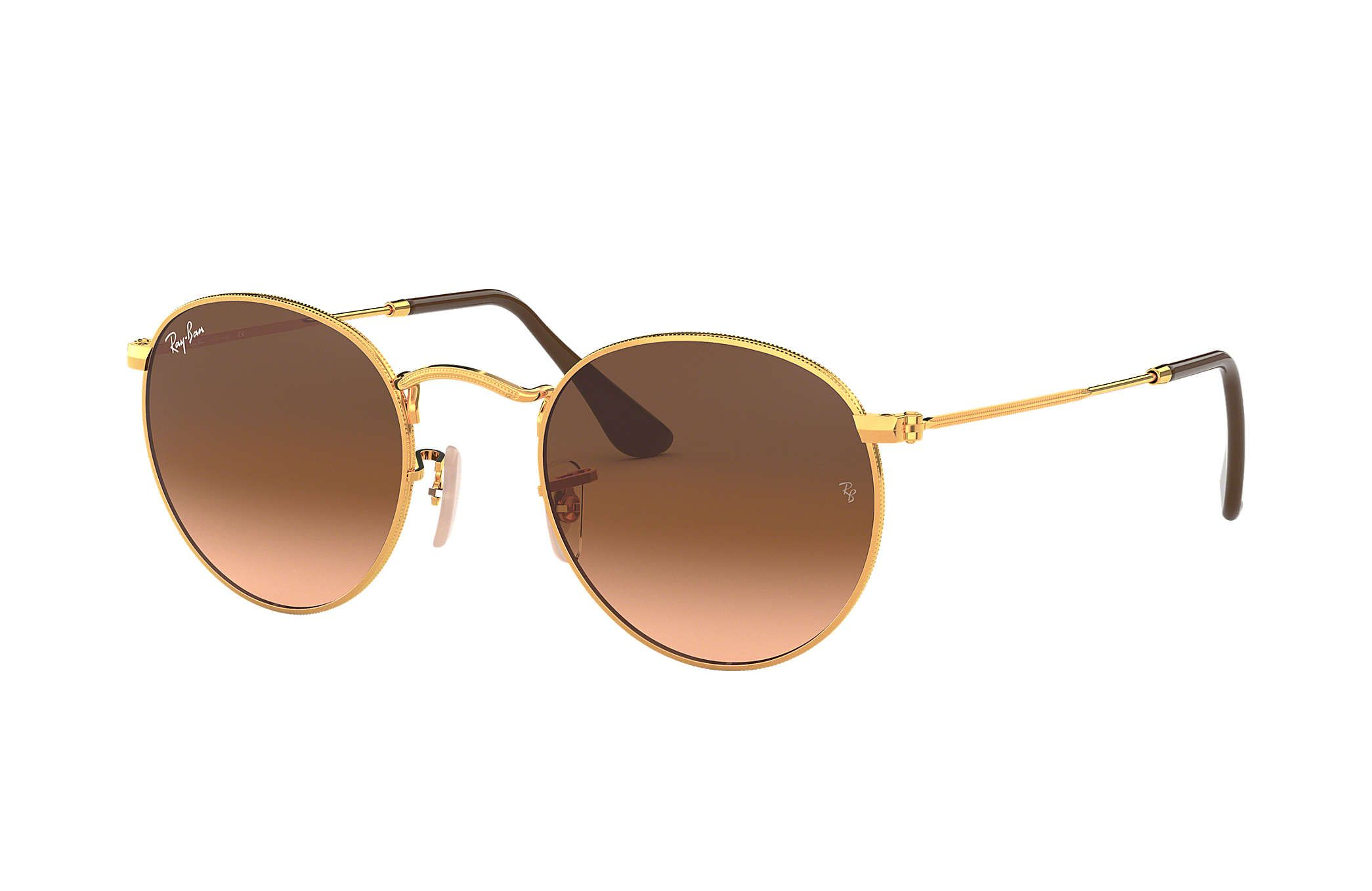 637936874 Ray Bans RB3447 Round Metal sunglasses – Bronze-Copper Frame / Pink/Brown  Gradient Lens | fake Ray Bans | Round ray bans, Ray ban round sunglasses,  Ray bans