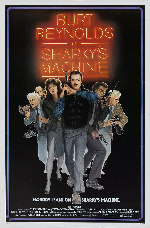 Sharky S Machine 1981 Movie Posters Classic Movie Posters Burt Reynolds