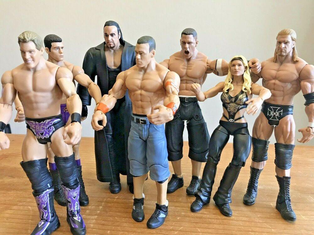"BRAND NEW SEALED MATTEL WWE JOHN CENA 3/"" INCH WRESTLING FIGURE FIGURINE WRESTLER"