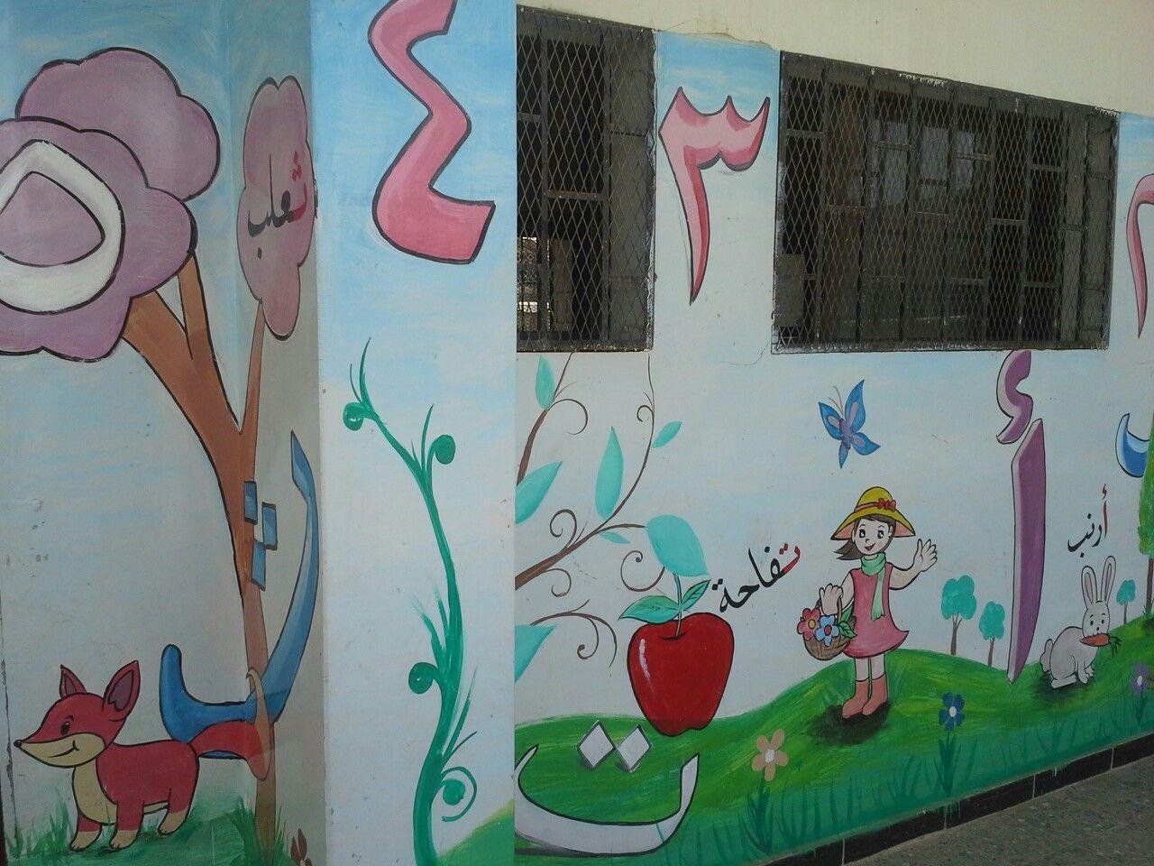 لوحات فنية للمدارس Painting Art Kindergarten