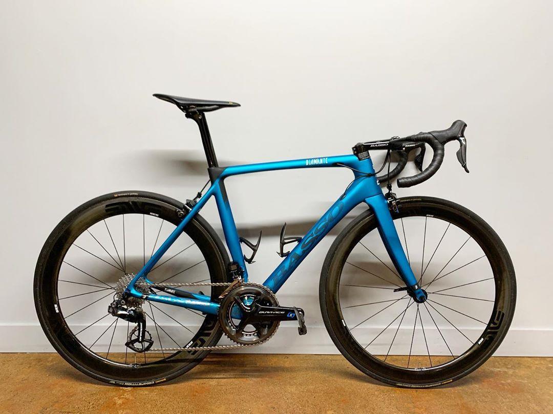 Veloholic No Instagram Basso Diamante Electric Sky Blue Size 51 Rim Brake With 120mm Basso Stem Custom Build With Shimano In 2020 Bike Kit Cool Bikes Super Bikes