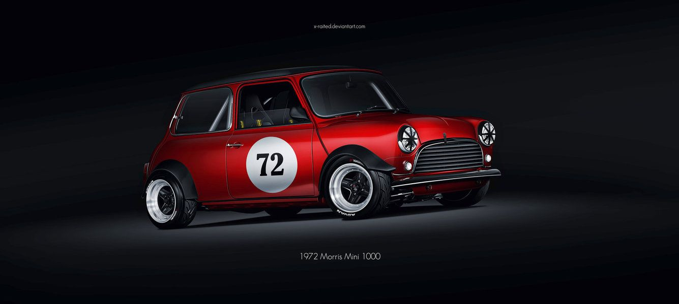 1972 Morris Mini 1000 Racing by X-Raited on DeviantArt
