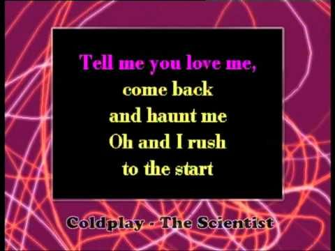 Coldplay - The Scientist (Karaoke Version) - YouTube