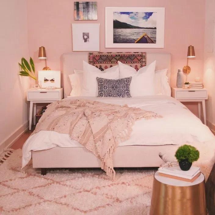 26 Most Admirable Farmstyle Bedroom Ideas For Unique Decor Interior Design Bedroom Small Elegant Bedroom Bedroom Decor