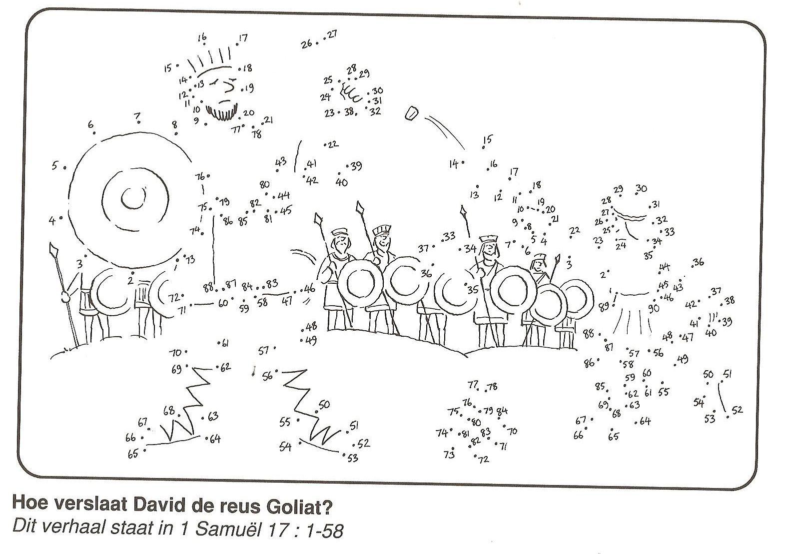 Hoe Verslaat David De Reus Goliat? Van Stip Naar Stip