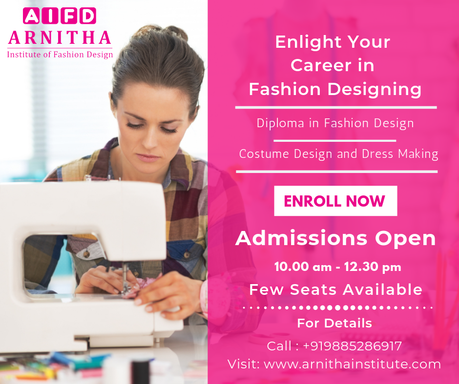 En Light Your Career In Fashion Designing Admissions Are Open Now Arnitha Career In Fashion Designing Fashion Designing Course Fashion Designing Institute