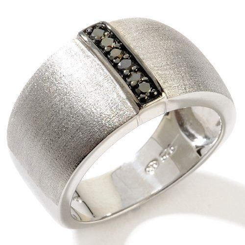 Black Diamond Men's Ring