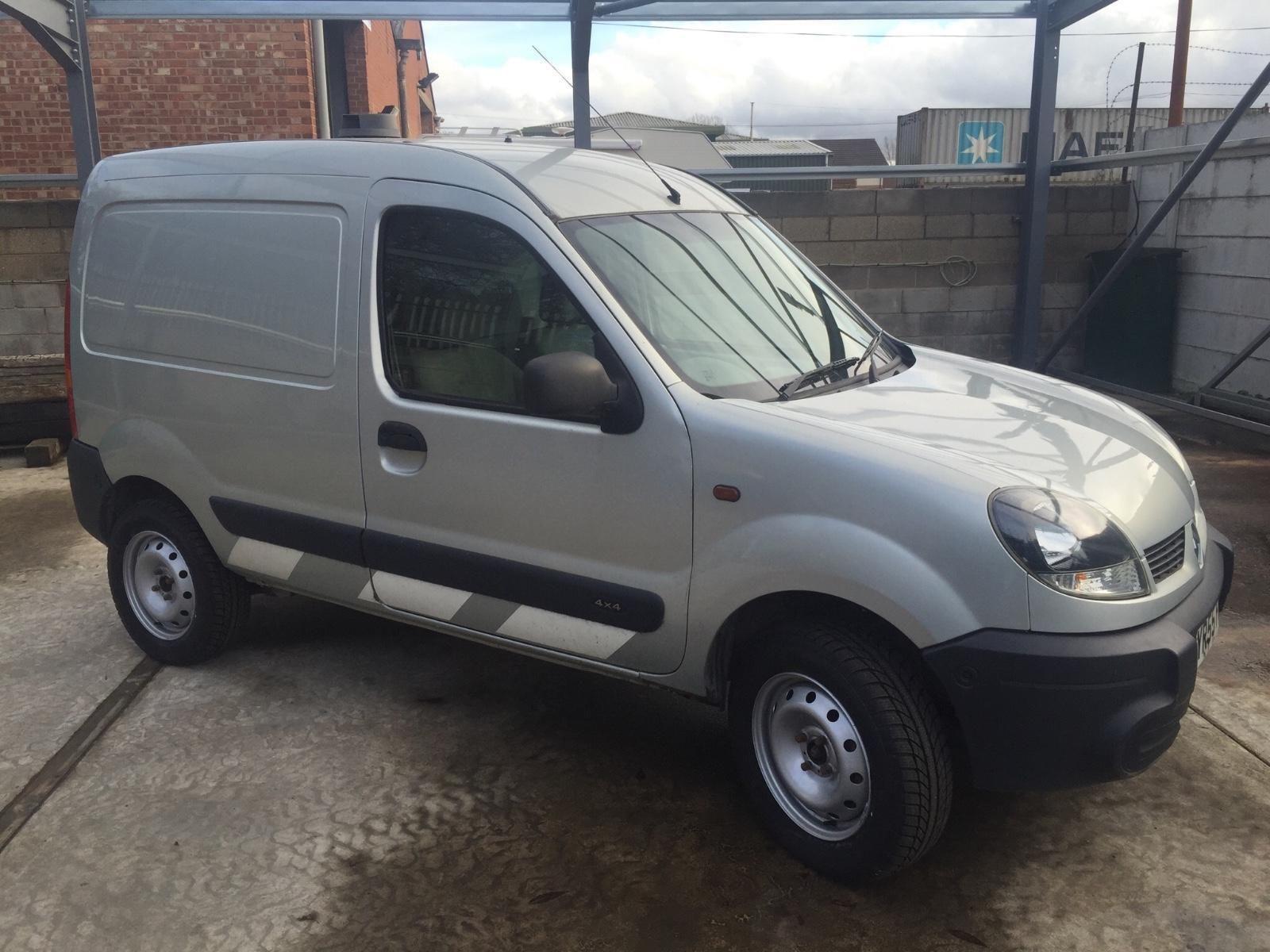 Renault Kangoo 1.9TD 4x4 Van | 4x4 van, 4x4 and Van car