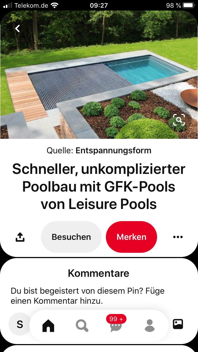 Pin Von Sabrina Auf Garten Poolbau Pool Garten