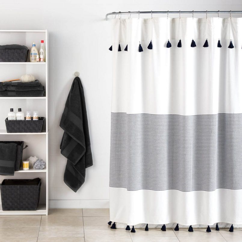 Shower Curtain Panama Stripe Shower Curtain Ndash Dormify Panama