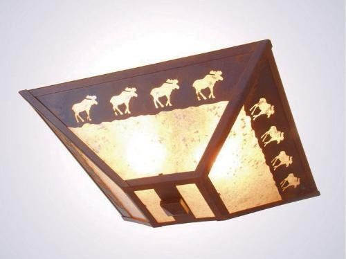 Northwoods Ceiling Lighting Fixtures Rustic But Cly