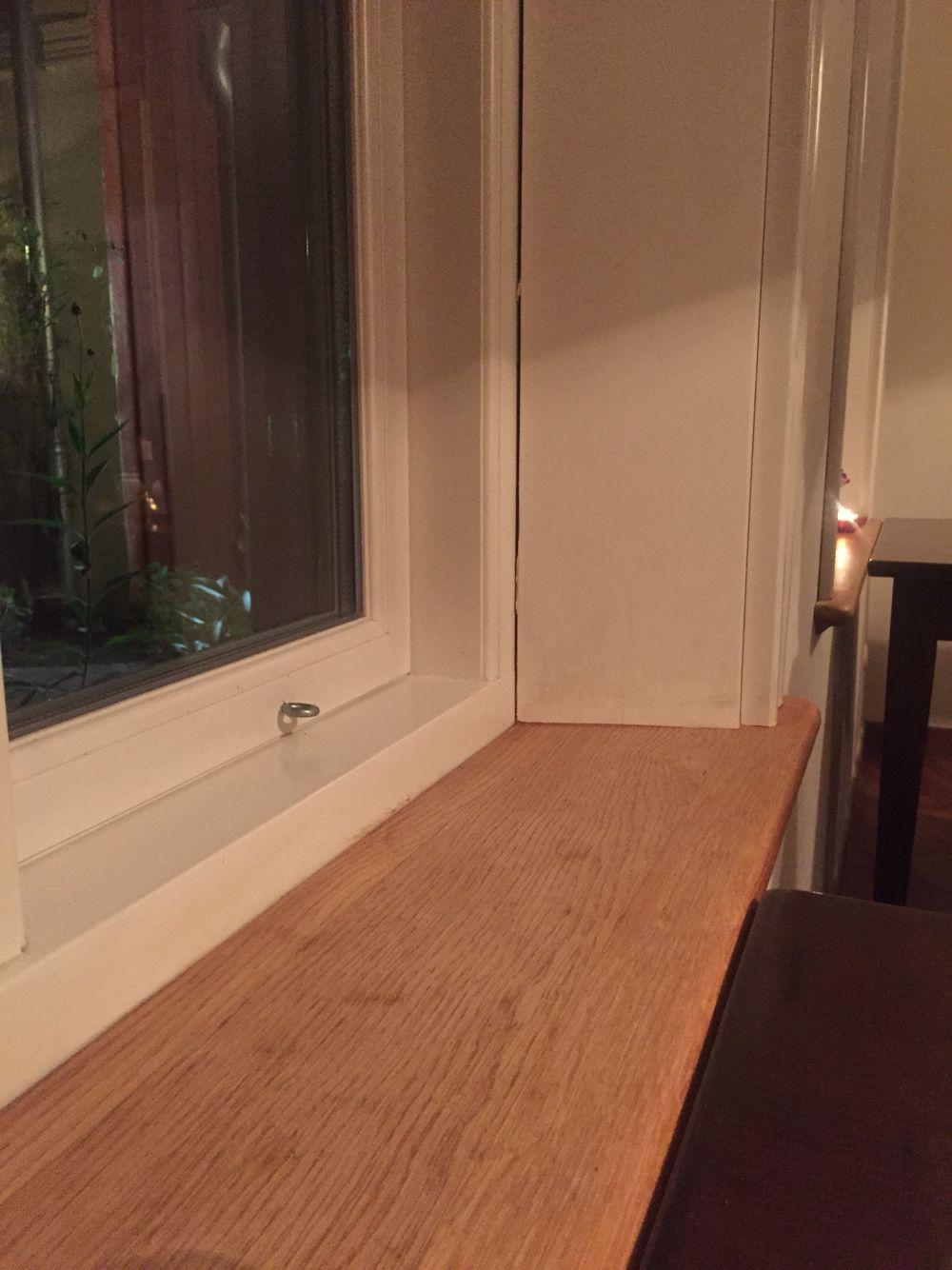 Fensterbänke aus unlackiertem Holz.   house   Pinterest ...
