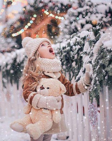 Neue Kinder Fotografie Weihnachten Schnee Ideen