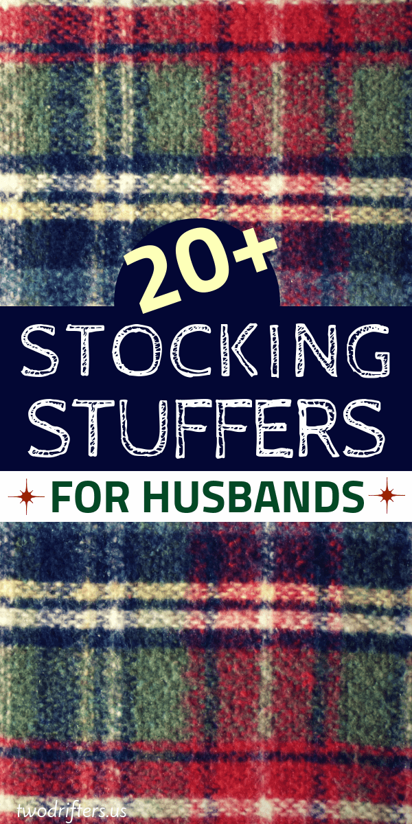 20+ Awesome Stocking Stuffers for Your Husband