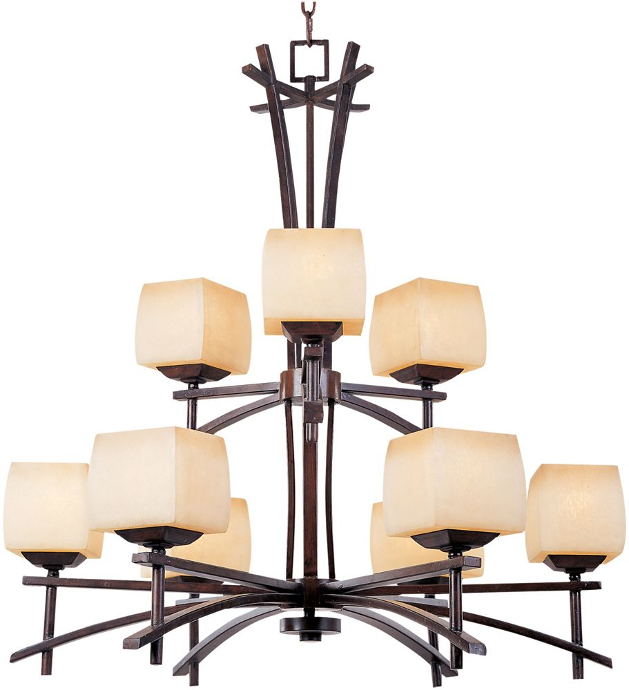 Maxim Lighting 1098 Asiana Chandelier Roasted Chestnut At Atg S Find This Pin And More On Mission Asian Chandeliers