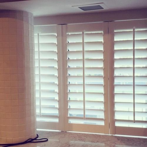 Plantation Shutters Installed Today By Window Spaces In