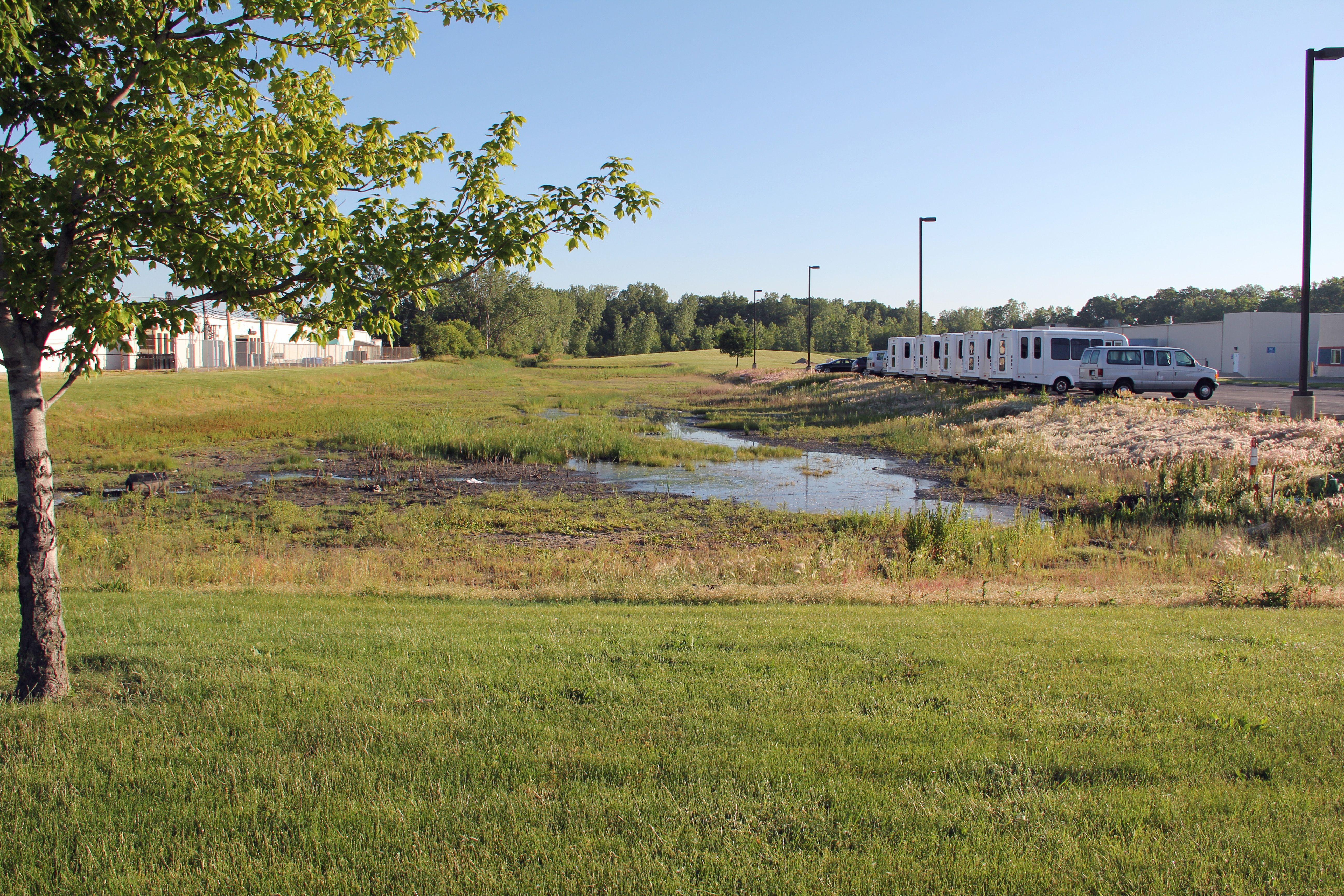 Retention Pond ....Ditch? 3350 Hill Ave | Rain garden ...