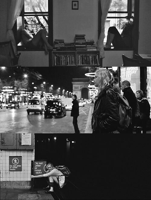 Frances Ha, my crazy hero. I relate to characters who can't grow up despite their trying, when everyone else around them is moving on and getting older.