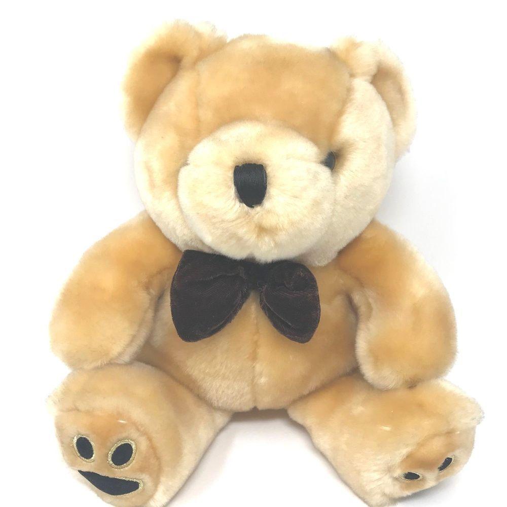 Dan Dee Collectors Choice Plush Velvet Teddy Bear 10 Brown Stuffed Animal Toy Dandee Teddy Bear Stuffed Animal Dog Toys Pet Toys [ 1000 x 1000 Pixel ]