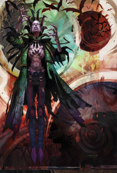 MTG Artists Of Magic Playmat AGAINST THE ODDS With Artwork by Dan Scott NEW