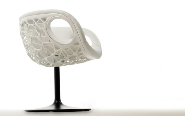 25 Amazing 3d Printed Furniture Designs Of The Future Join The 3d Printing Conversation Http Www Fuelyourprod 3d Printed Furniture 3d Printing Printed Chair