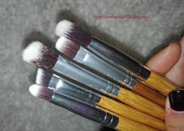 DoveIniziaLaFollia: Start Makers - Set da 12 pennelli per il make up in bambù