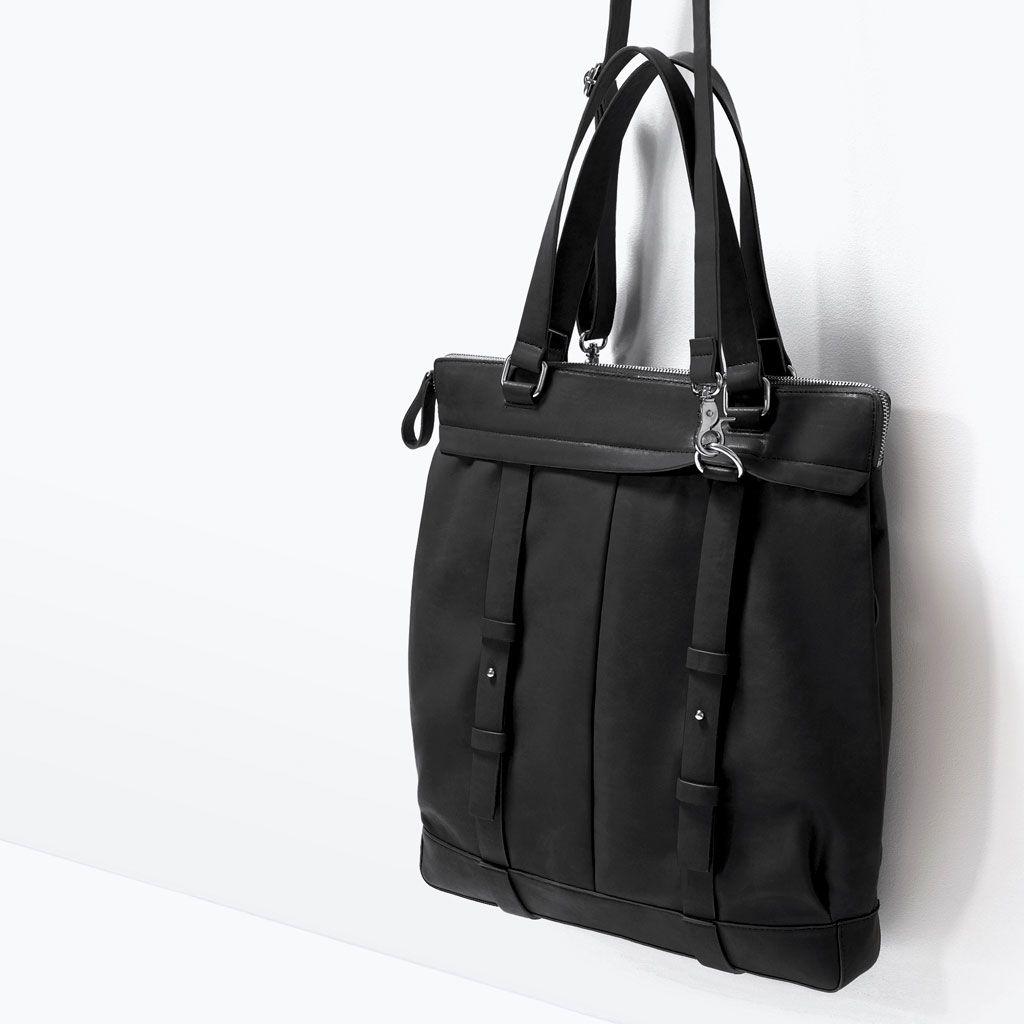 SPORTY SHOPPER BAG-View all-Bags-MAN | ZARA Taiwan
